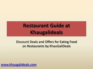 Noida Restaurants