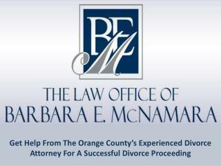 Orange County's Experienced Divorce Attorneys