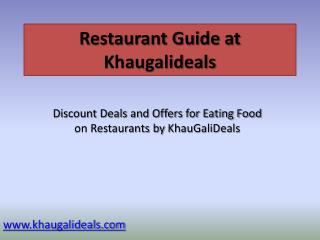 Restaurant Guide for Best Restaurants in Gurgaon
