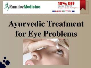 Ayurvedic Treatment for Eye Problems