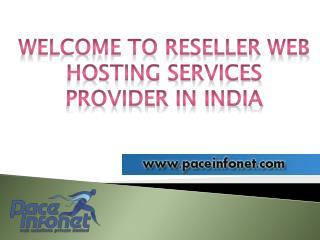 Reseller Web Hosting Company in Vadodara