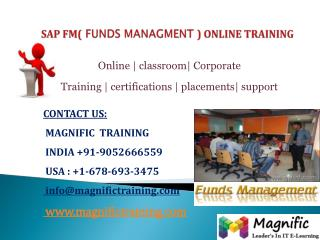 SAP FM ONLINE TRAINING IN BANGALORE