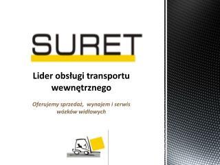 Suret - wózki widłowe