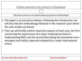 Easy Ways to Determine Success in online payment for school