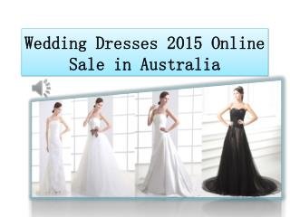 New arrival wedding dresses 2015