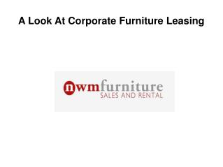 Corporate Furniture Leasing
