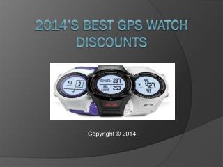 Get 2014's Best Gps Watch Discount