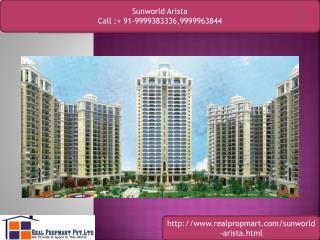 Sunworld Arista Resale Apartments Noida