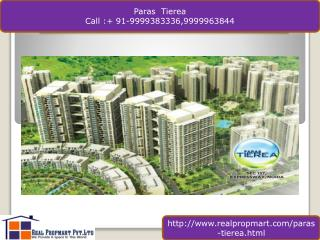 Paras Tierea Resale Apartments Sector 137 Noida
