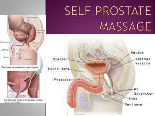 Self Prostate Massage