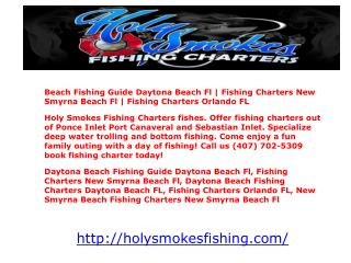 Beach Fishing Guide Daytona Beach Fl | Fishing Charters New