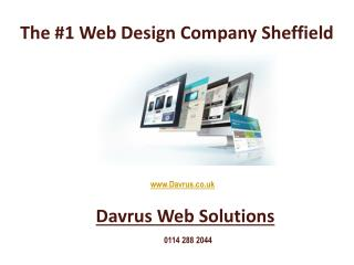 The Number 1 Web Design Company Sheffield