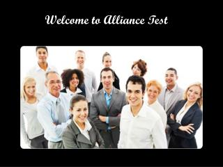 Electronics Equipments by Alliance Test