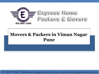 Movers and Packers in Viman Nagar Pune | Express Home Packer
