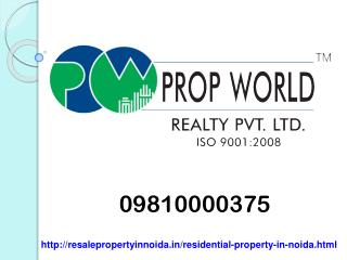 09810000375 Residential Property for sale in Noida