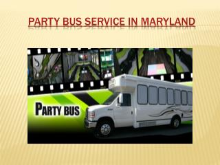 Party Limousine Bus Service Maryland
