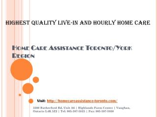 Home Care Service for Seniors