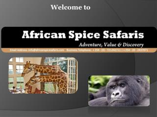Welcome to African Spice Safaris