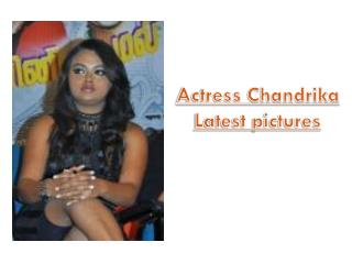 Actress Chandrika latest Pictures| Cinefames