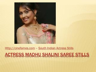 Actress Madhu Shalini Photos| Cinefames
