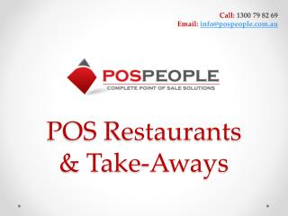 Restaurants Point of Sale System