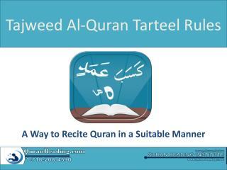 Tajweed Al Quran