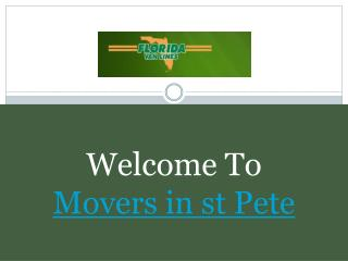 Movers in st Pete