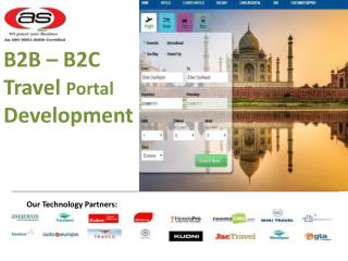 B2B Travel Portal Development Services - Axis Softech