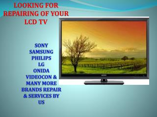 LCD Repair Services in Delhi