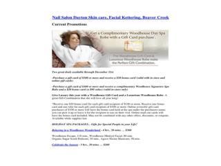 Nail Salon Dayton Skin care, Facial Kettering, Beaver Creek