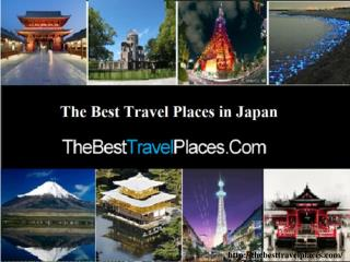 The Best Travel Places in Japan