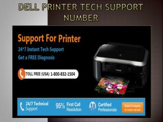 Dell Printer Tech Support Number 1-800-832-1504 | Toll Free