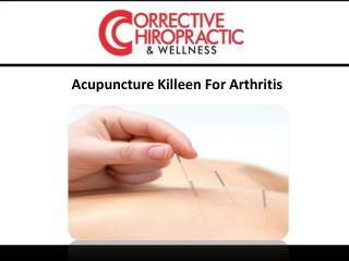 Acupuncture Killeen For Arthritis