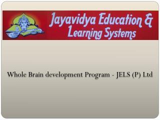 Whole Brain development Program