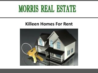 Killeen Homes For Rent
