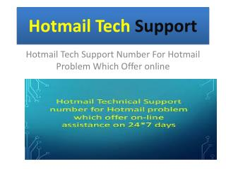 // 1-844-780-6751 && Hotmail Tech Support Number USA | Email