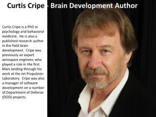 Curtis Cripe - Brain Development Author