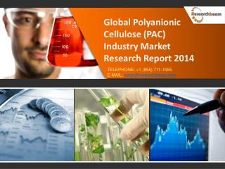 Global Polyanionic Cellulose (PAC) Market Size, Share 2014