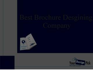 Professional Brochure Designing Company - YourDesignPick