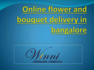 ONLINE FLOWER DELIVERY IN MARATHAHALLI BANGALORE