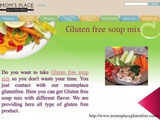 Gluten Free Soup Mix