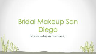 Bridal Makeup San Diego