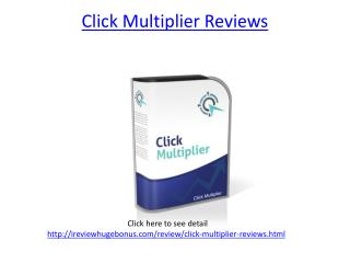 Click Multiplier Reviews