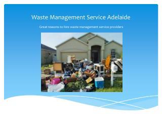 Waste Management Service Adelaide