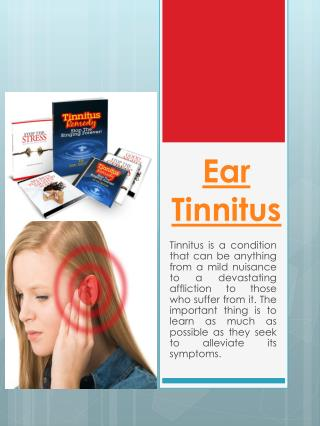 Tinnitus In Ear