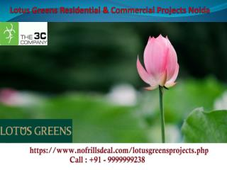 Lotus Greens Residential Projects Noida