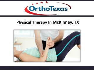 Physical Therapists McKinney, TX