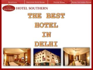 Book Your Best Hotel In Delhi