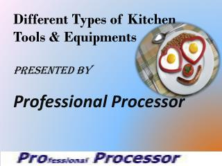 Professional processor for cooking & meat processing