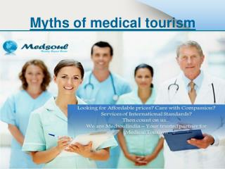 Myths of medical tourism